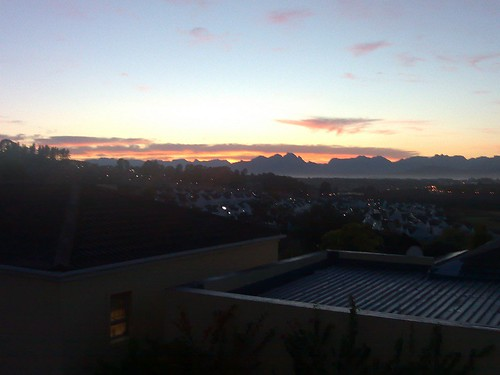 Sunrise from home