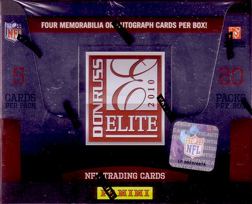 2010 Donruss Elite box