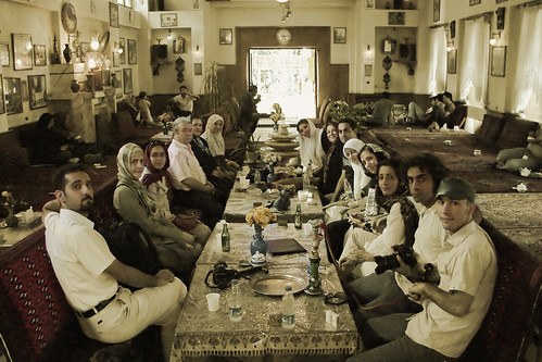 WE / Sanglaj Traditional Cafe by Hamed Saber