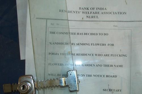 notice gandhigiri