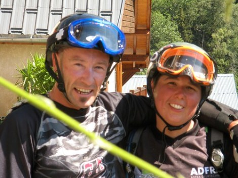 Nick & me... I'm beat!
