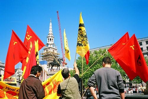 Trafalgar May Day  London - May 2007