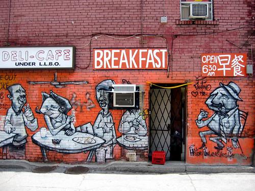 Mural in Toronto
