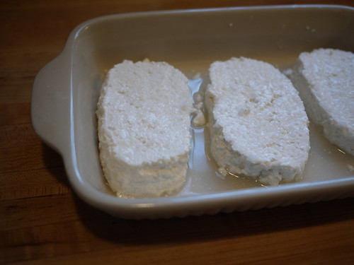 Feta - Sliced and salted