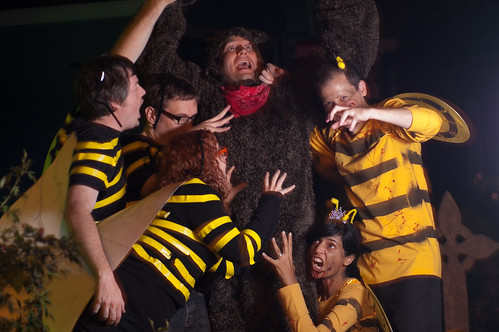 No honey for you, bear!