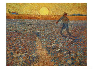 the sower, 1888 by you.
