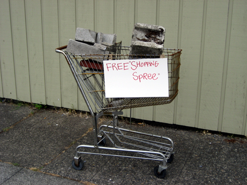 Free Shopping Spree