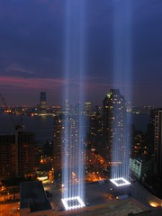 Tribute In Light - NYC September 11, 2007