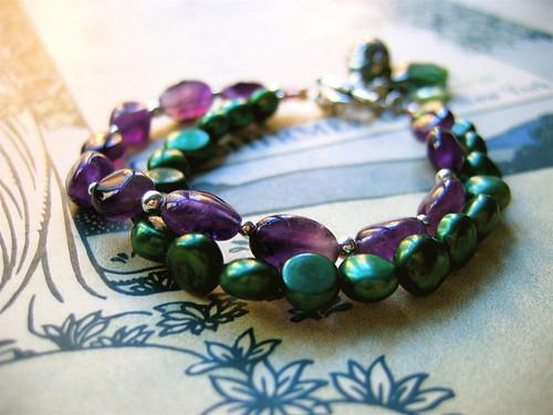Dark Velvet bracelet 1