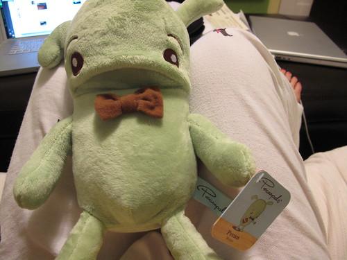plushy comfort toy gift from Jennifer