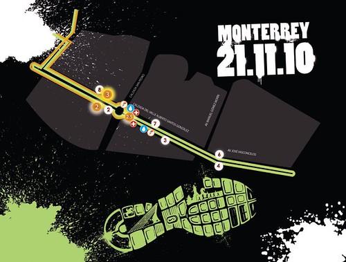 Ruta Nike Corre México Monterrey