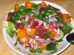 Cuke Tomato Salad