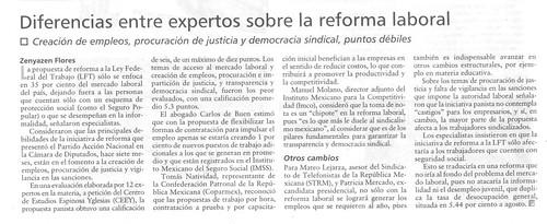 Evaluación del CEEY a la Reforma Laboral