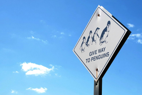 granite island sign