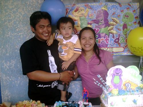 Carl 2nd Birthday Party