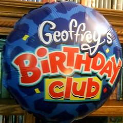 Geoffrey's Birthday Club