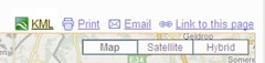 Google Maps KML link