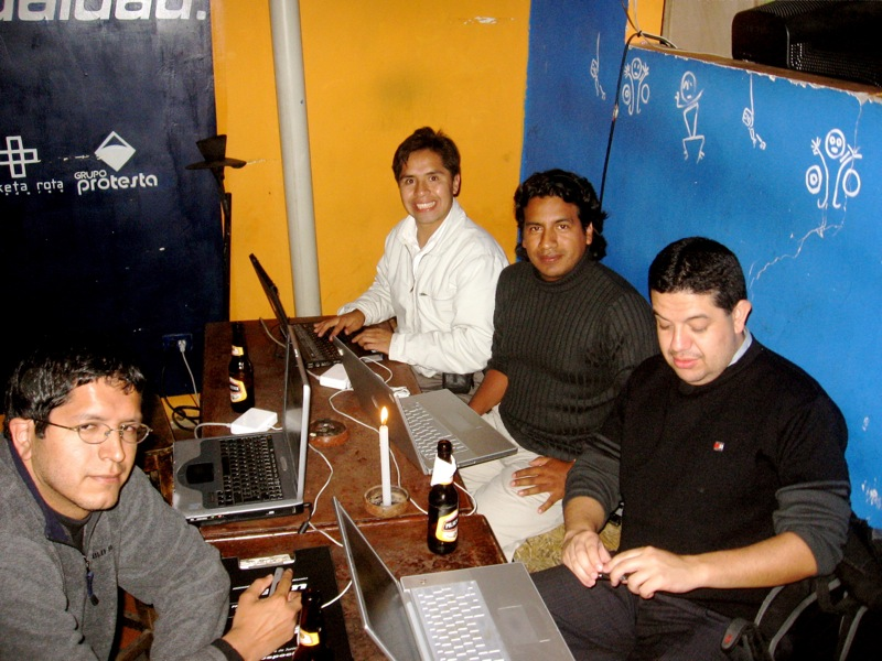Nelson Piedra in Loxa BlogDay 2007