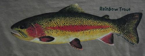 Backwater Angler Rainbow Trout T-Shirt