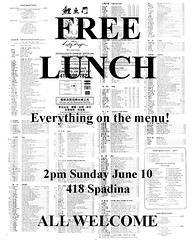 Free Lunch!