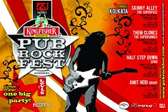 KINGFISHER PubRockFest 2007 Kolkata Schedule