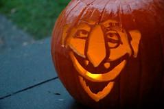 ONE!  One Beautiful Pumpkin! Ha-Ha-Ha-Haaa!