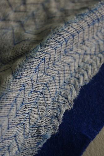 Pad Stitching the Undercollar