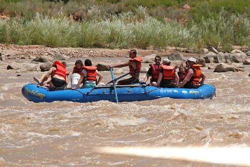 moab river raft