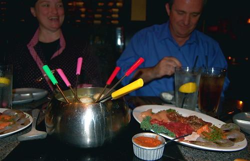 Fondue at the Melting Pot