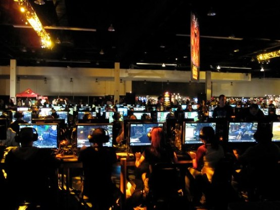 BlizzCon Gaming section