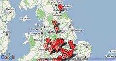 nocto » UK Twitter Snow Map