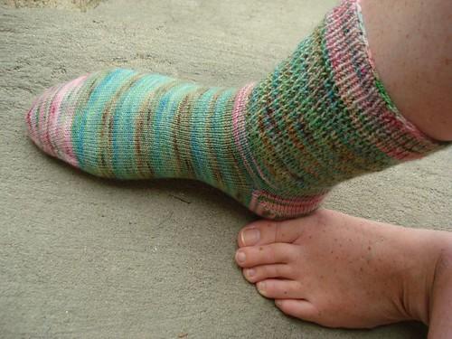 I got my socks!
