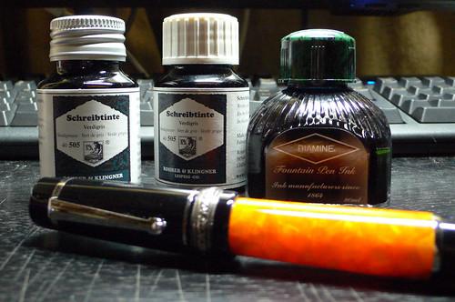 DIAMINE / R&K ink bottle