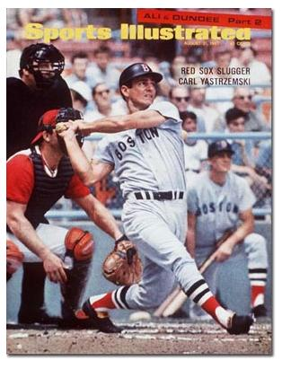 Carl Yastrzemski on Sports Illustrated cover