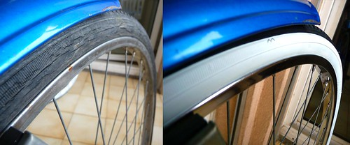 Front Wheel Before and After