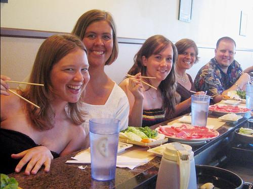 Japanese dinner!