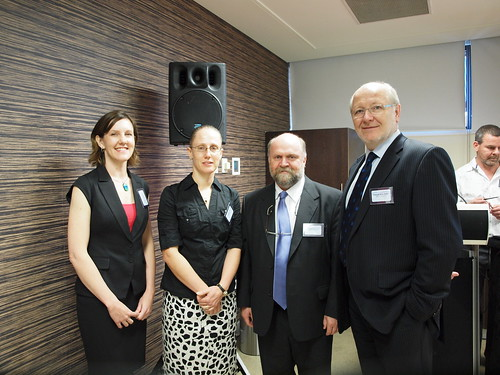 Molecular Techniques - Product Launch - Dr Heather Bray, Dr Amanda Able, Professor Bob Bill, Professor James McWha