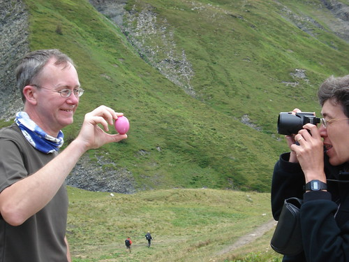 Neil and Valerie ... and The Pink Egg