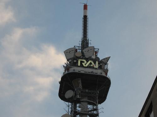 L'antenna RAI di Milano, Corso Sempione