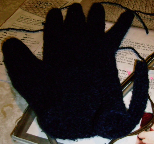 Motorcycle Chica Glove the First