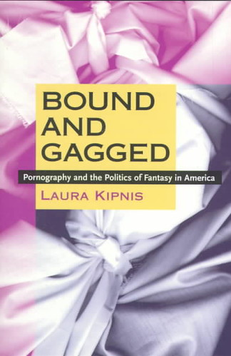 Bound & Gagged Pornography & The Politics Of Fantasy In America by Laura Kipnis COVER