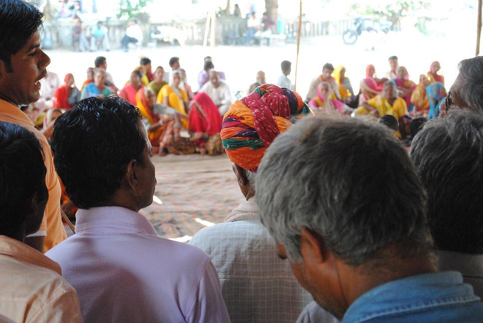 Pics from the satyagraha - 2 Oct 2010 - 8