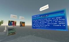 Second Life : Néthique sur l'Ile Verte