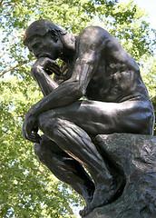 The Thinker, Rodin (1880)