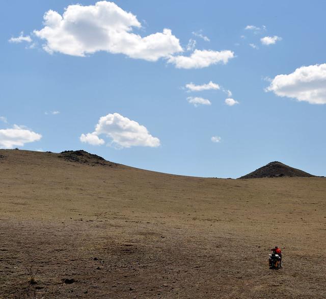 Off-road climb
