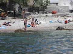 Λουόμενοι στην παραλία Βουλιαγμ�νης