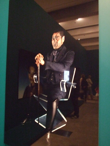 Vincent sitting / Lisa Reihana