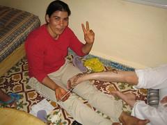 L'Habiba, l'artista de l'henna