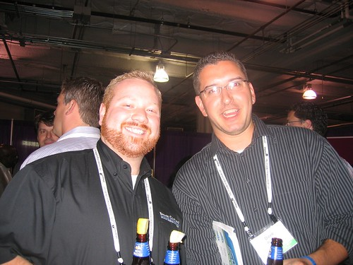 Aaron from Bruce Clay and Viper Edge aka Dave Rohrer - SMX Seattle 2007