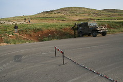 Military checkpoint, Palestine